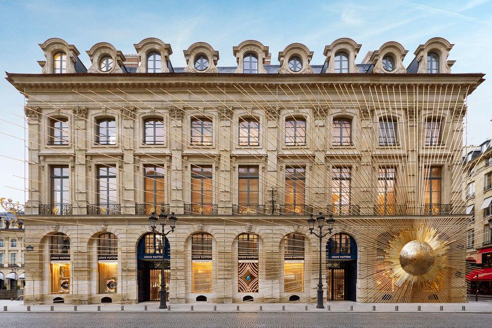 Бутик Maison Louis Vuitton Vendôme снаружи