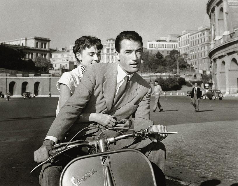 Кадр из фильма «Римские каникулы» (1953 г.)