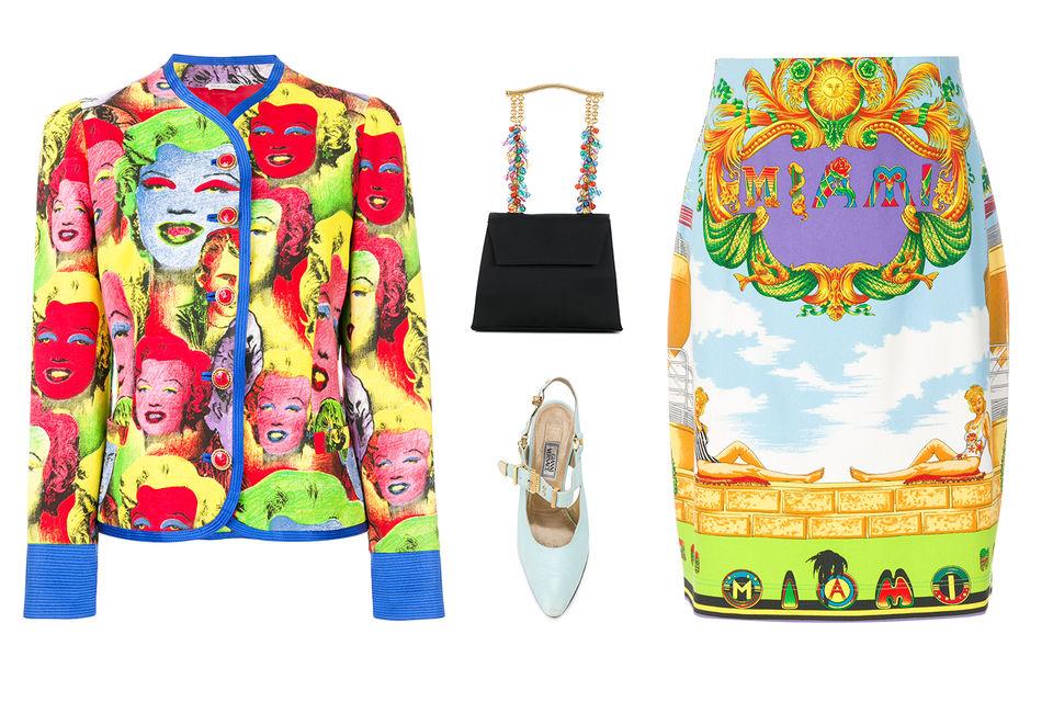 Модели одежды, аксессуары и обувь, созданные Джанни Версаче