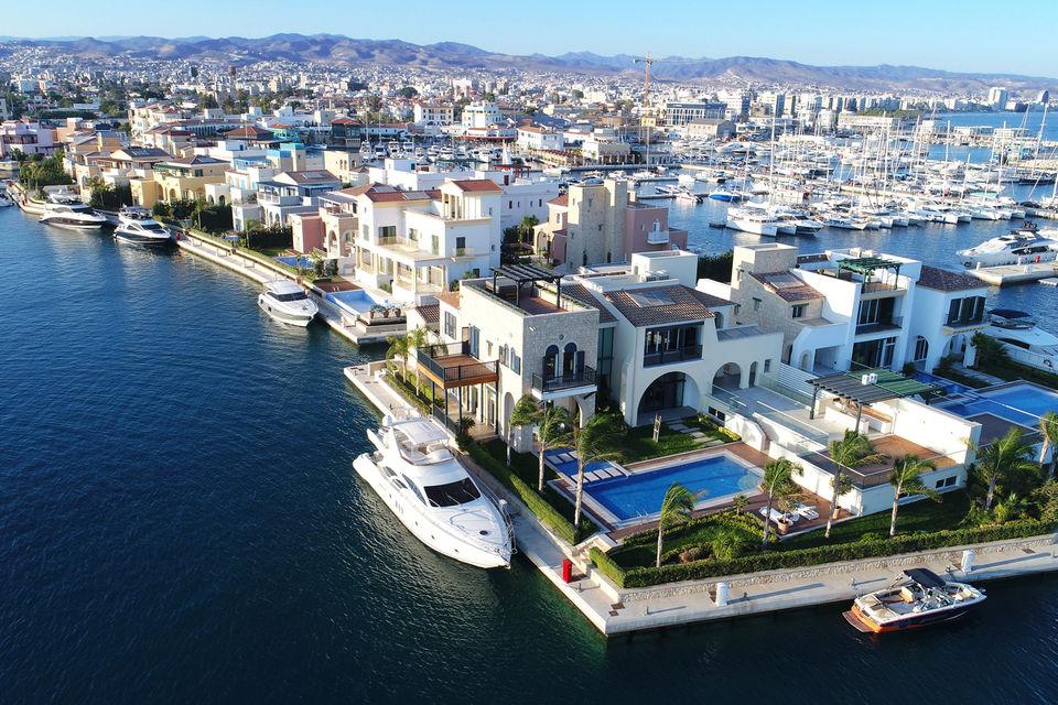 Вид на комплекс Island Villas с высоты птичьего полета
