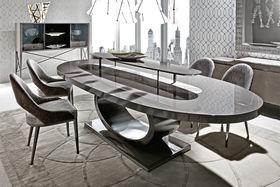 Овальный обеденный стол из новой линии Vision бренда Giorgio Collection