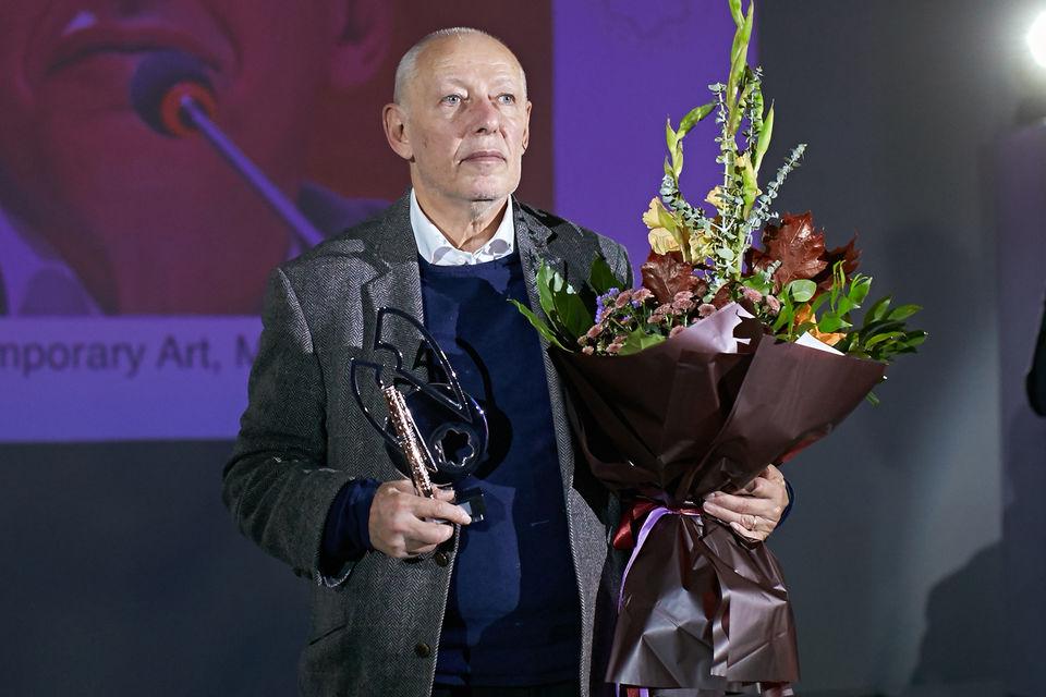 Лауреат Montblanc de la Culture 2017 Иосиф Бакштейн
