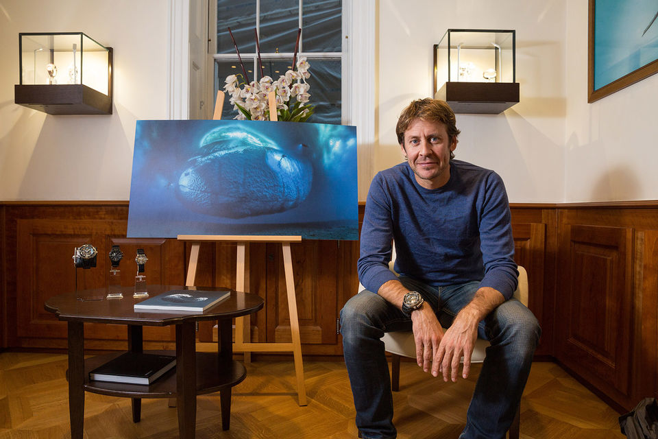 Лоран Баллеста, морской биолог, дайвер-исследователь, подводный фотограф