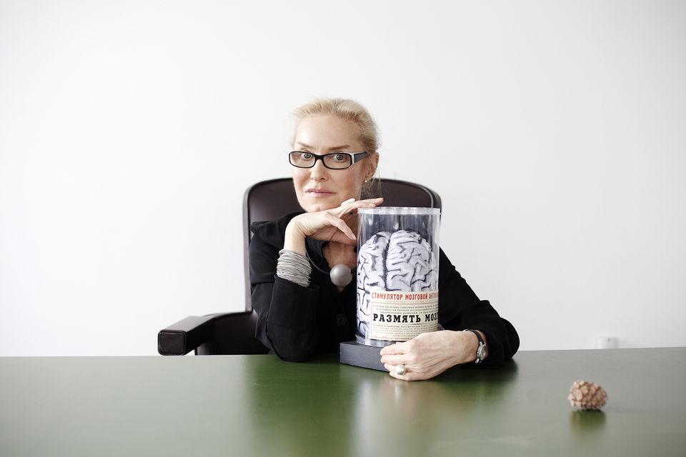 Ольга Свиблова, директор московского «Мультимедиа Арт Музея»
