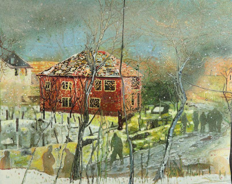 «Красный дом», худ. Питер Дойг