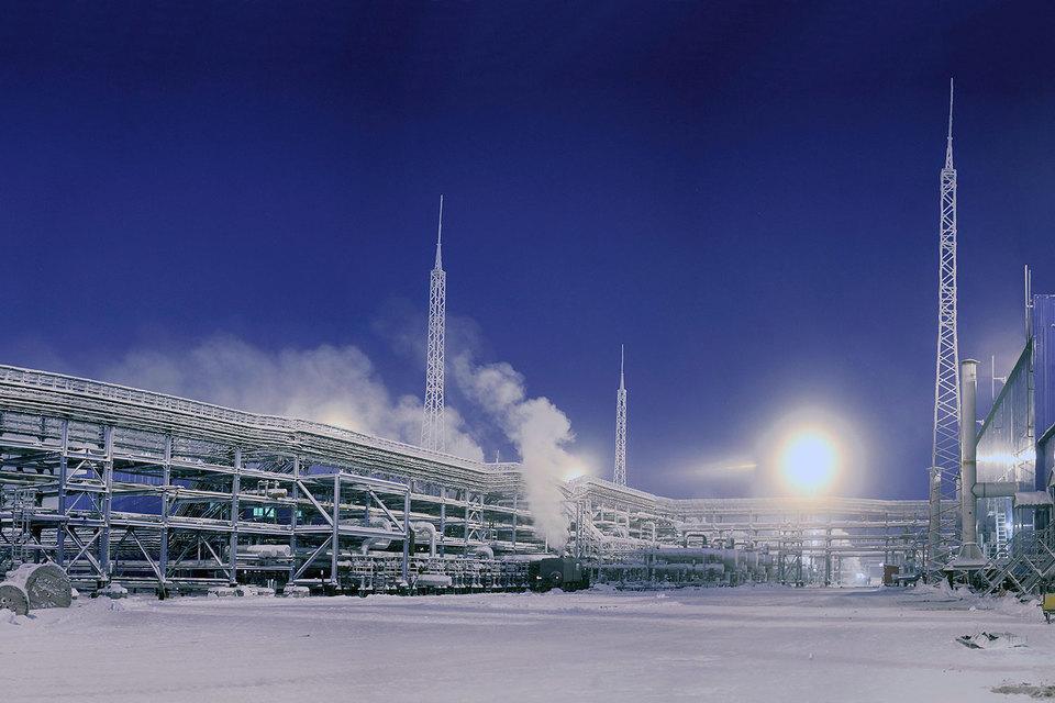 Мороз и низкие цены помогли «Газпрому»