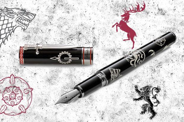 Дизайн ручки Westeros выполнен в эстетике домов вымышленного континента