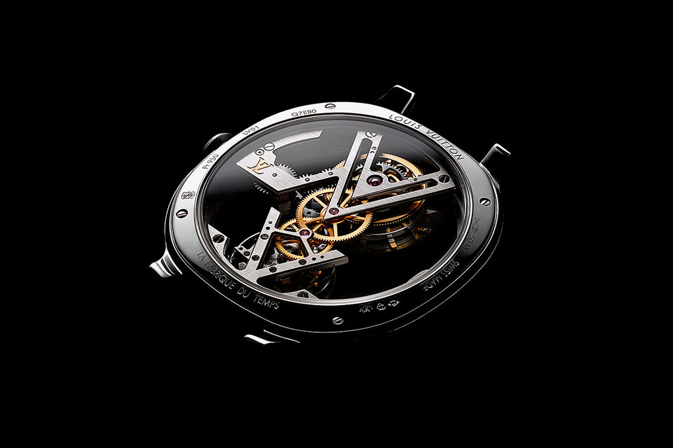 Сложные часы Flying Tourbillon Poincon de Geneve