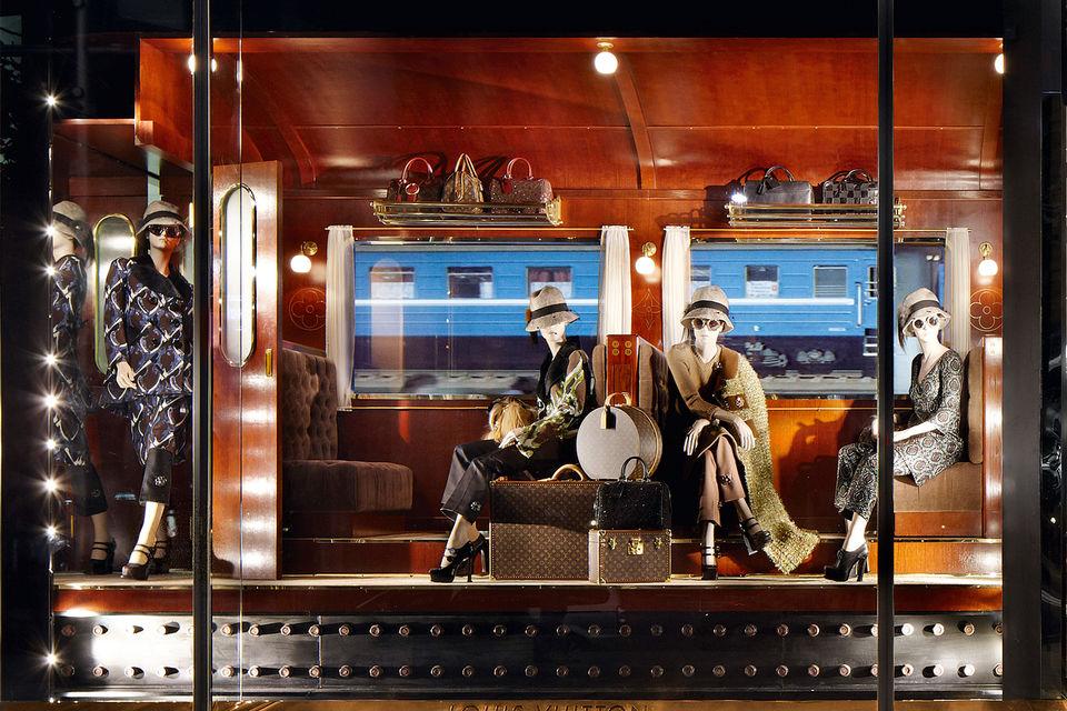 Шанхайский магазин Louis Vuitton. Сотрудничество архитектора с Домом продолжается уже более 20 лет