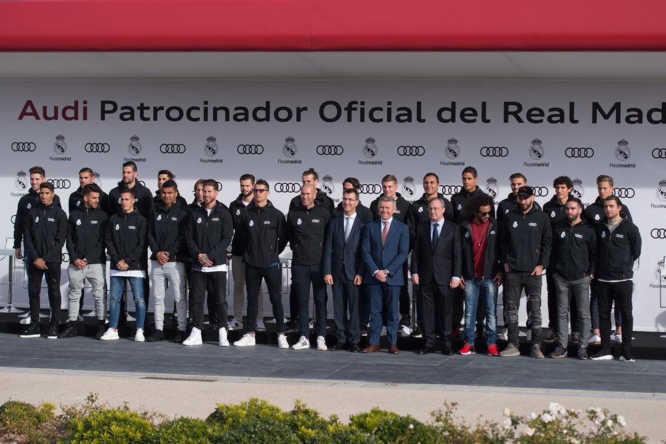 Команда «Реал Мадрид» в полном составе