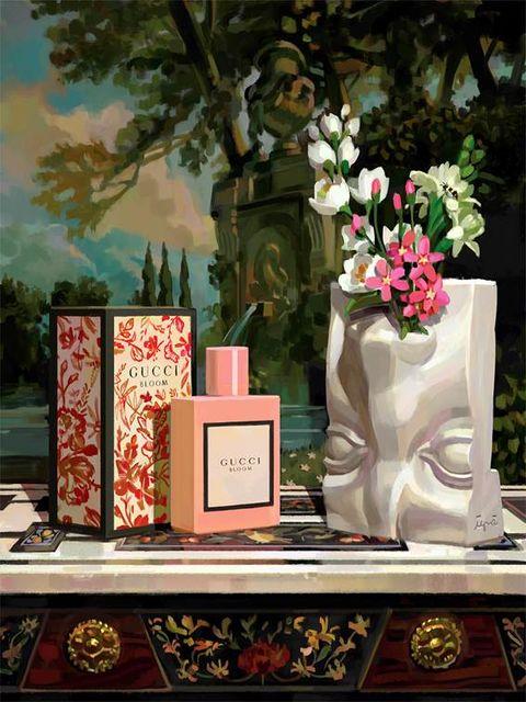 Кадр из рекламной кампании Gucci