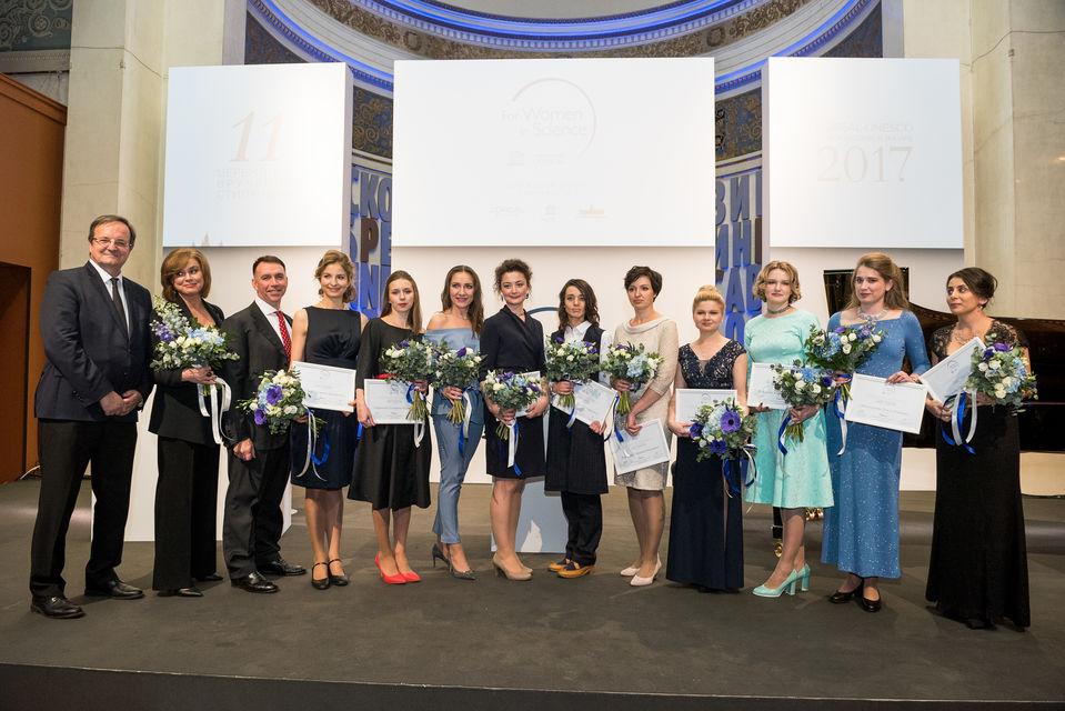 Стипендиаты конкурса L'Oreal-UNESCO «Для женщин в науке»