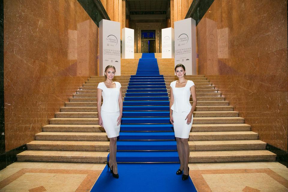 Пушкинский музей и представители L'Oreal  встречают гостей