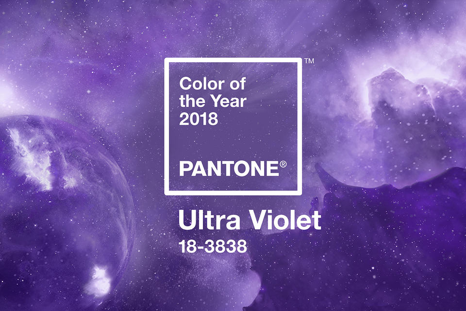 Ultra Violet – главный цвет 2018 по версии  Pantone