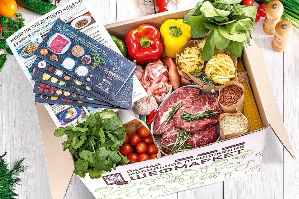 Клиентам «Шефмаркета» предлагаются готовые типы меню – для семей с детьми, для правильного питания, для веганов