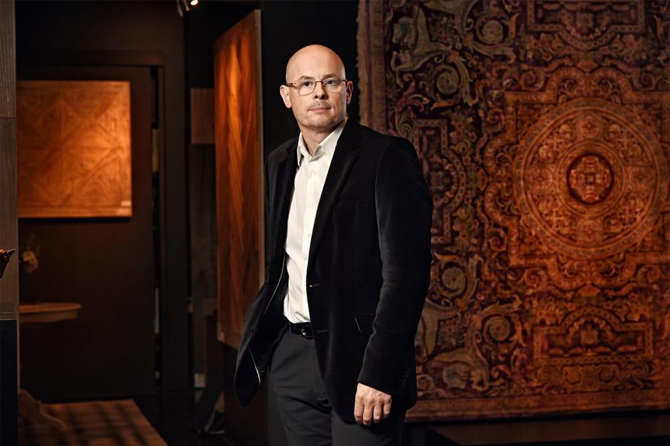 Евгений Шутко, основатель ателье ковров ручной работы TheRugOne