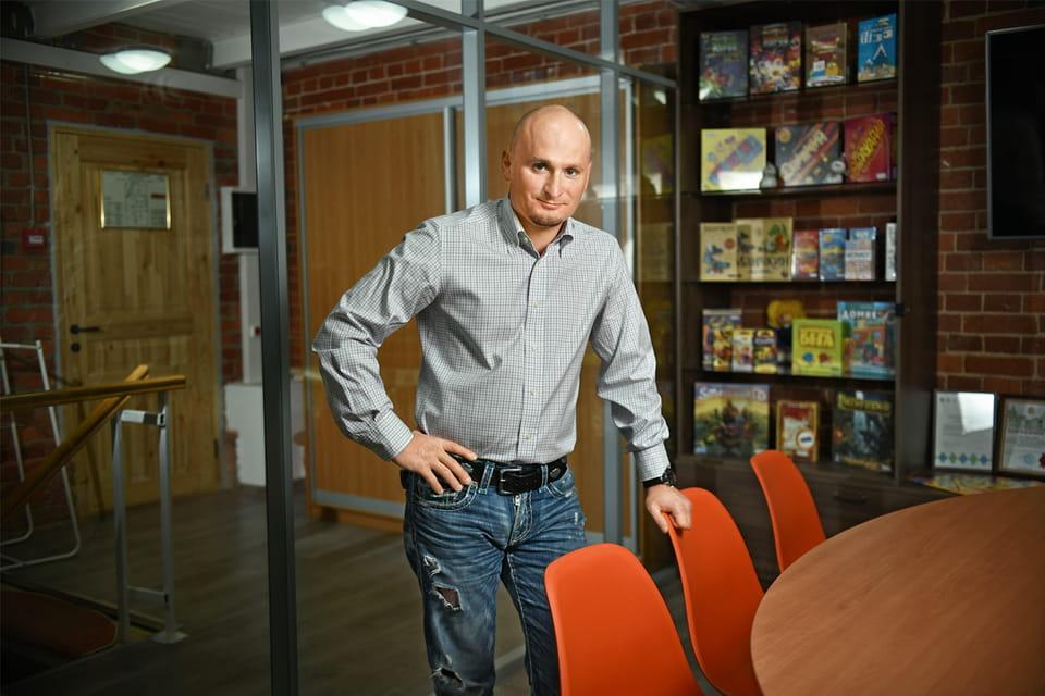 Иван Попов, сооснователь издательства Hobby World