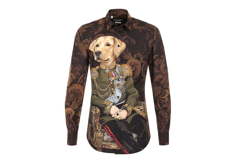 Рубашка из мужской коллекции Dolce&Gabbana, осень-зима 2017/18