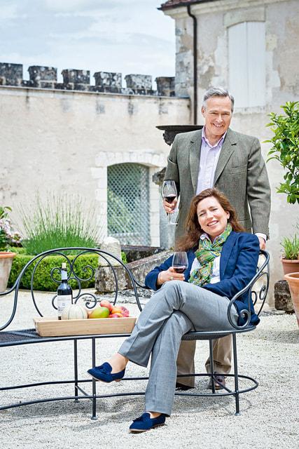Карл-Фридрих и его жена Кристина купили поместье в 2012 г.
