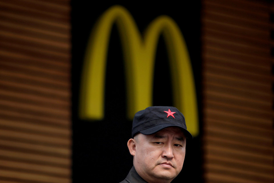 McDonald's переходит  на франшизы