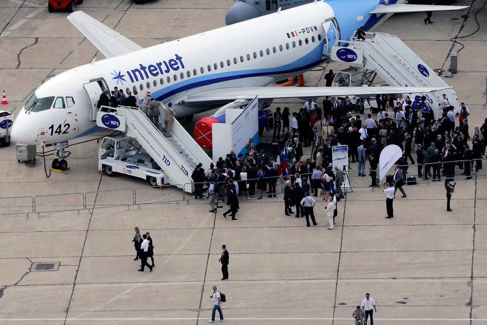 Самые большие потери понесла мексиканская Interjet – у нее было выведено из эксплуатации 11 SSJ100