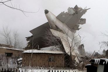 Самолет разбился 16 января в 07.31 в селе Дача-Суу в Сокулукском районе Чуйской области
