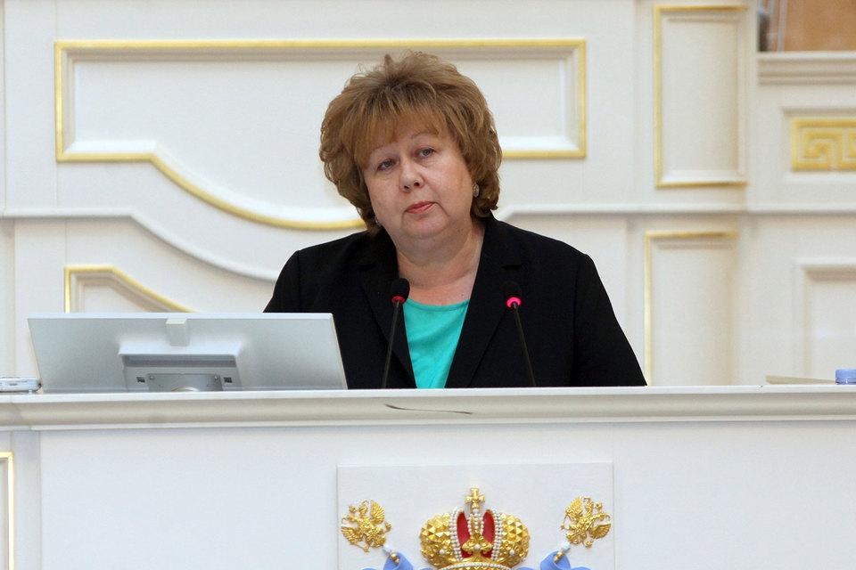 Ольга Казанская покинет пост вице-губернатора Петербурга