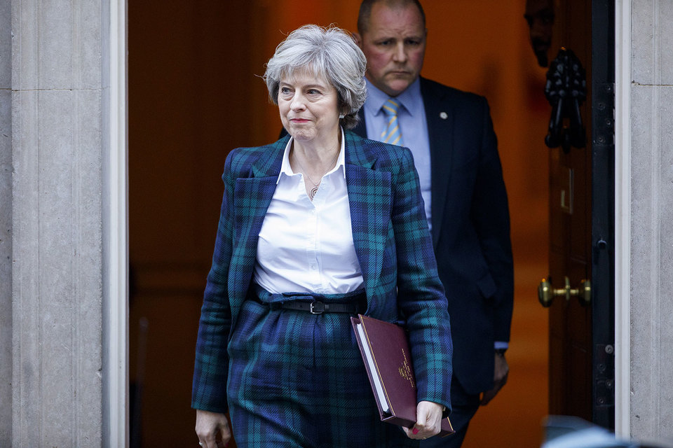 Великобритания не пробует держаться за куски членства вЕС— Мэй