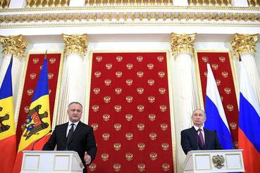 Молдавия намерена вернуться к стратегическому партнерству с Россией, восстановить двусторонний товарооборот, заявил после переговоров Додон