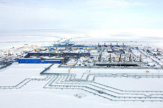«Газпром» запустил новый трубопровод Бованенково – Ухта – 2