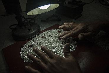 На месторождении хорошие запасы с высоким содержанием серебра в руде