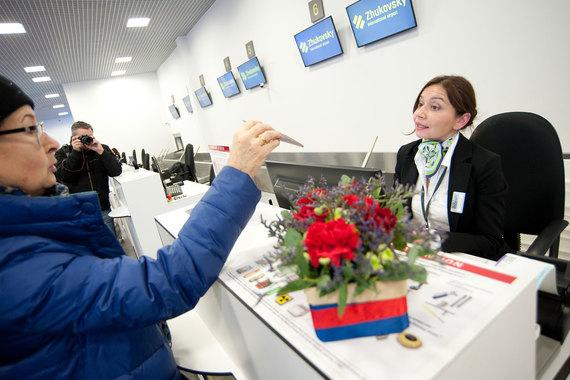 Аэропорт «Жуковский» пока работает вхолостую