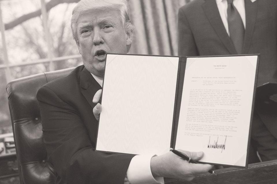 Трамп вывел США изТранстихоокеанского партнерства— огромное дело