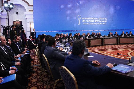 США пока лишь наблюдают за межсирийскими переговорами в Астане