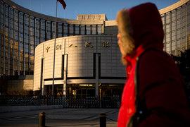 Предыдущий рекорд был в сентябре 2016 г., когда НБК выделил банкам 940 млрд юаней ($137 млрд)
