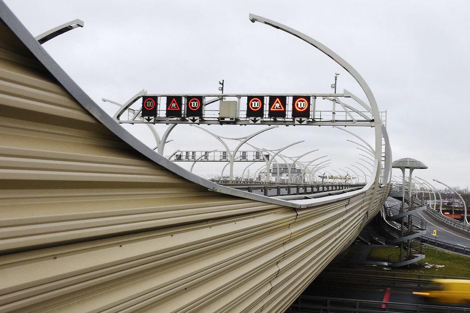Проезд поцентральному участку ЗСД вПетербурге стал платным