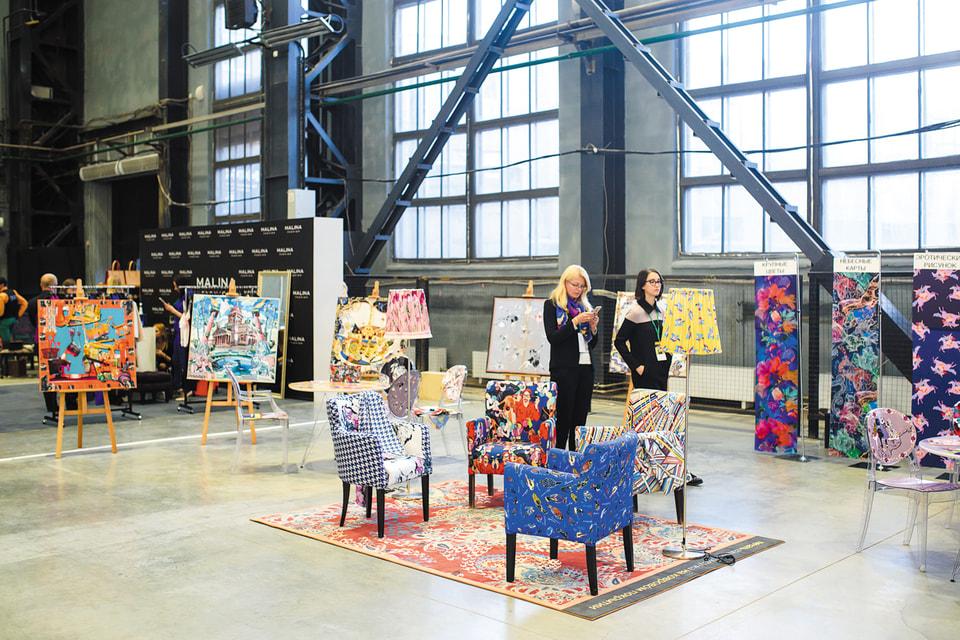 Выставка в рамках Международного форума моды (МФМ) в Санкт-Петербурге