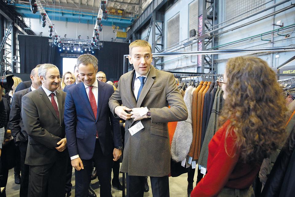 Замглавы Министерства промышленности и торговли РФ Виктор Евтухов на одном из мероприятий форума