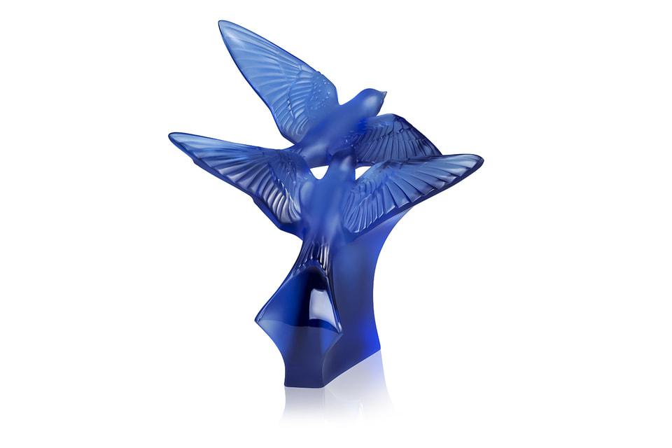 Ласточки – главный мотив юбилейной коллекции Lalique