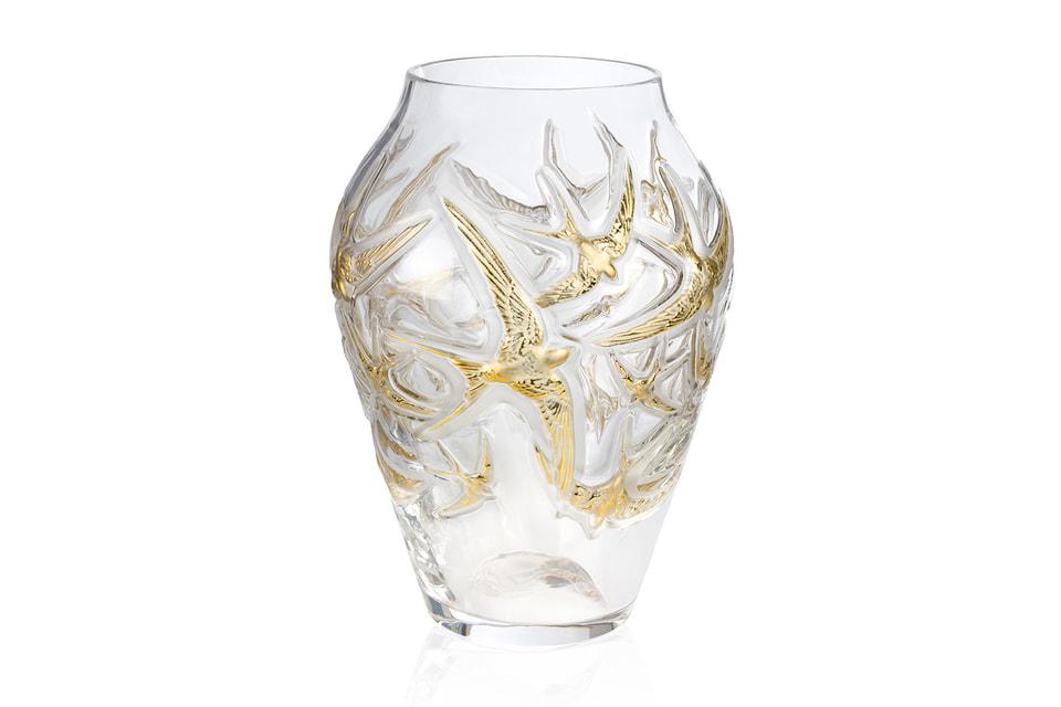 Хрустальная ваза Lalique создана к 130-летию Дома