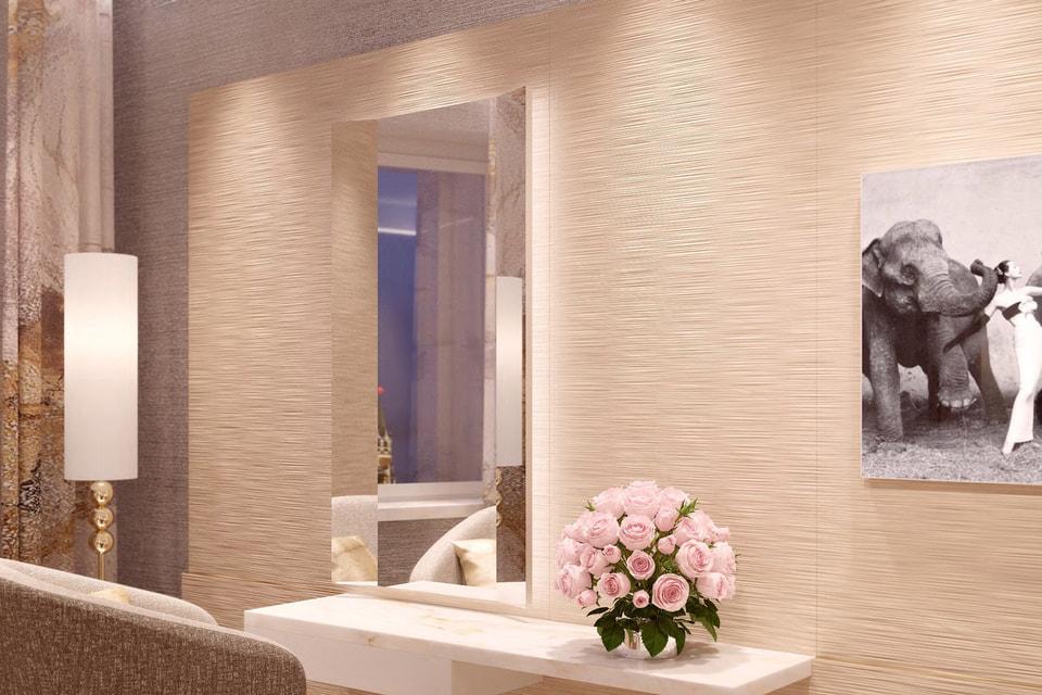 Вид на обновленное помещение Института красоты Dior в ГУМе