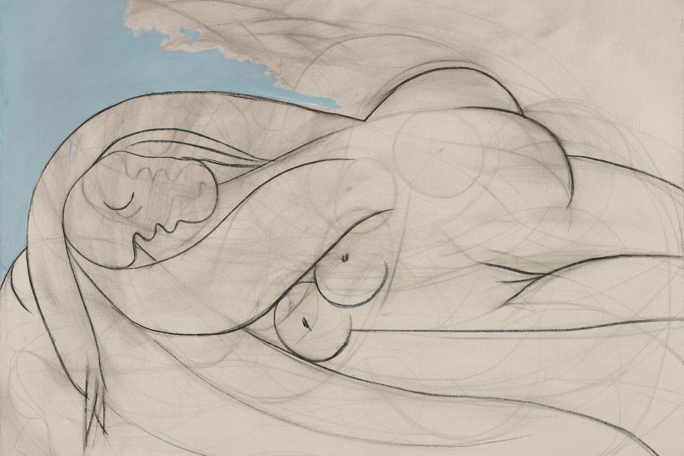 «Спящая обнаженная» Пабло Пикассо