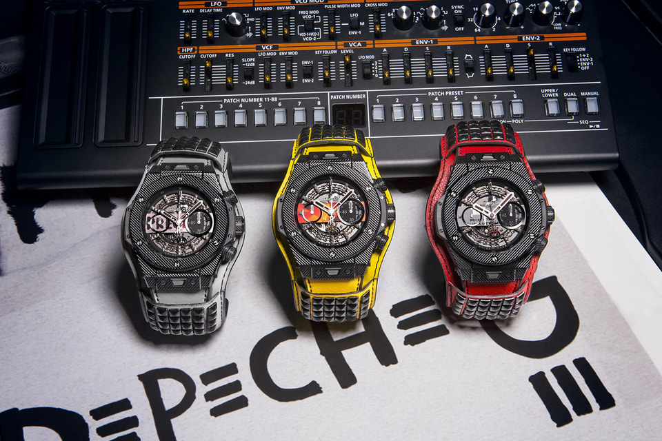 Hublot Big Bang Depeche Mode «The Singles» Limited Edition