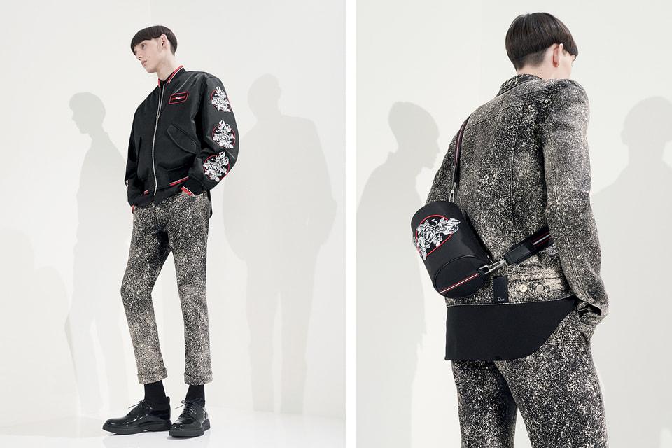 Во многих предметах одежды из коллекции Dior Homme сезона весна-лето 2018 используется ручная вышивка