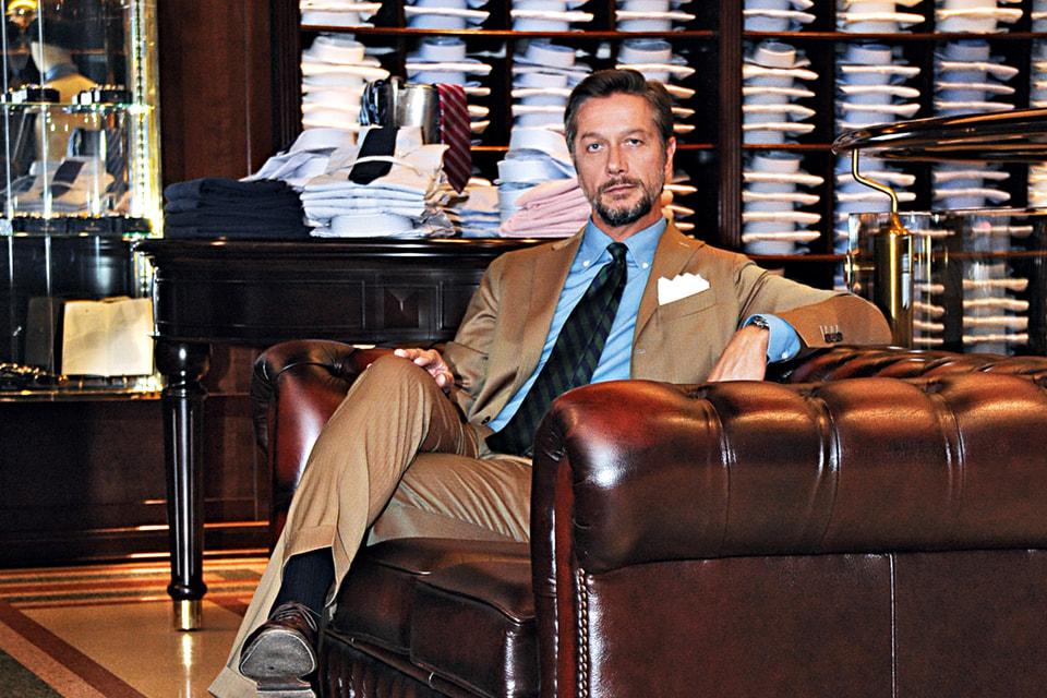 Лука Гастальди, исполнительный директор Brooks Brothers по Европе, Ближнему Востоку и Африке