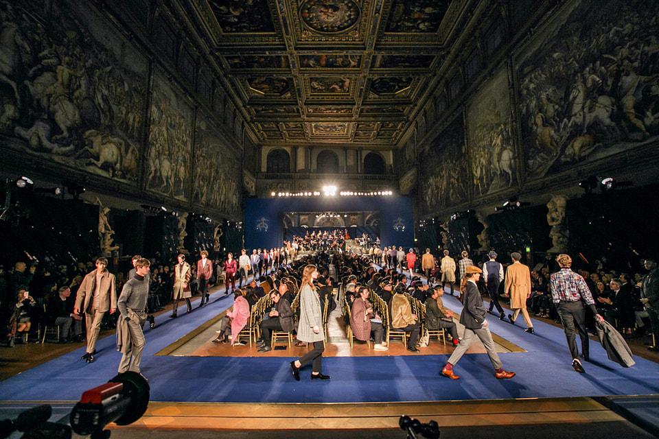 Юбилейный показ бренда на Pitti Uomo