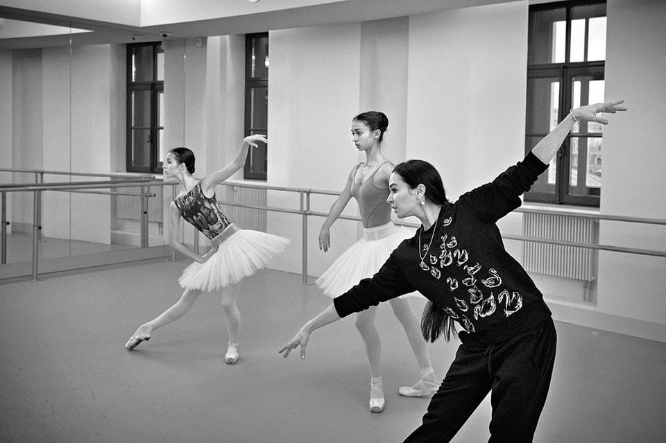 Мастер-класс для будущих звезд балета