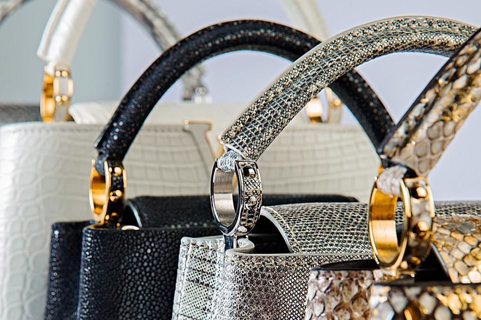 Изготовление любой из этих сумок Louis Vuitton предусматривает около 400 операций, выполняемых преимущественно вручную