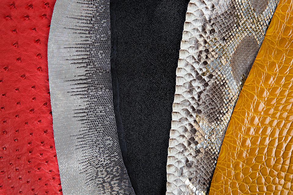 Сумки Louis Vuitton предлагаются в четырех экзотических кожах на выбор – крокодила, аллигатора, страуса и питона