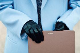 Кадр из рекламной кампании Paused, которую для Jil Sander снял режиссер Вим Вендерс